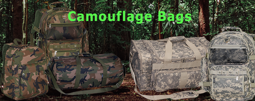 Wholesale Camouflage Backpack Bags